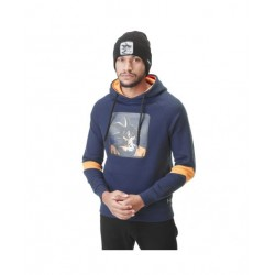 DRAGON BALL Z - CASQUETTE TRUCKER SUPER GOKU BLEU ORANGE
