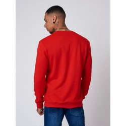 DEELUXE - SWEAT CREWNECK MANHATTAN BLEU MARINE